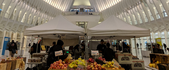 Greenmarket at the Oculus