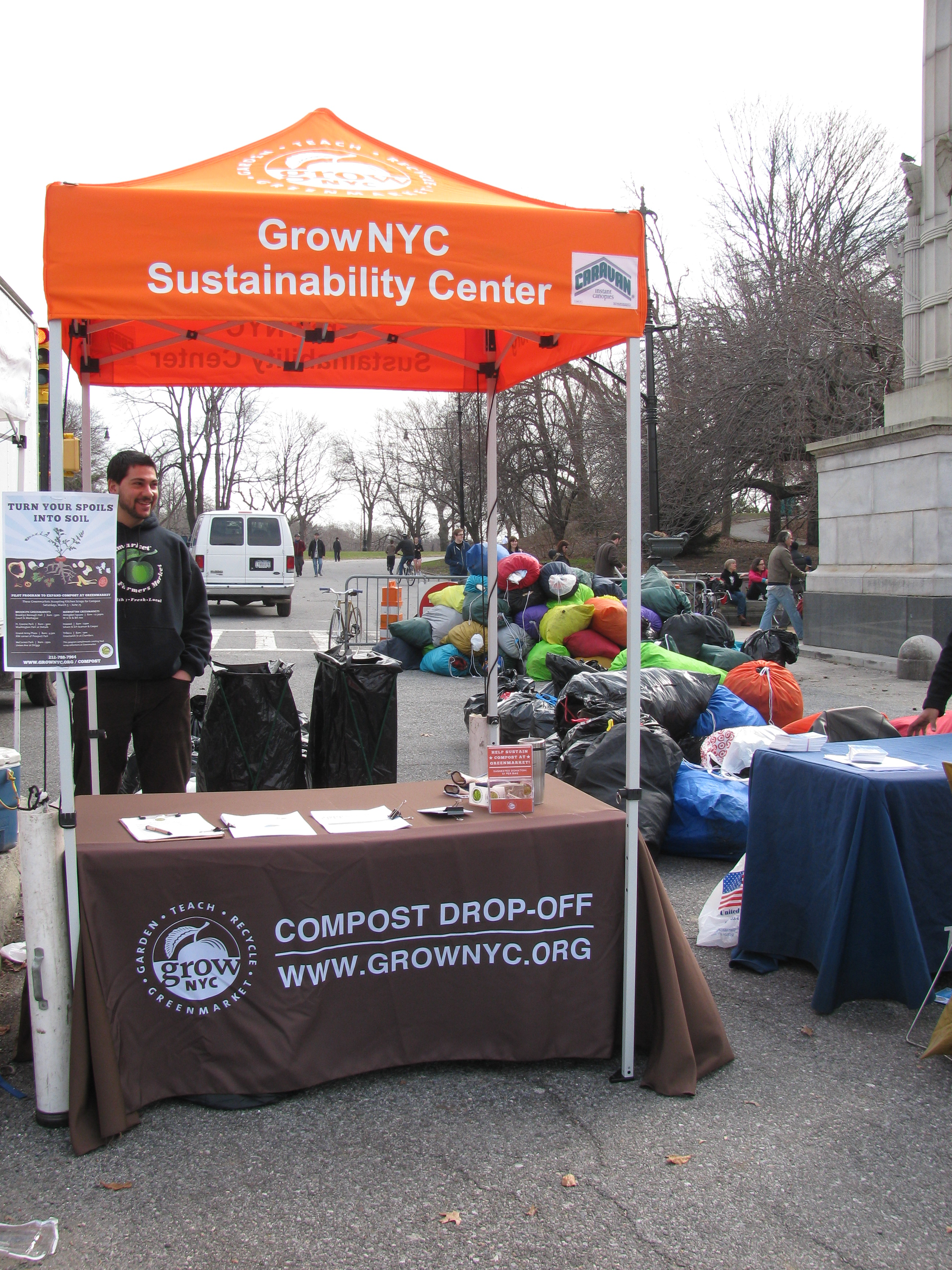 Sustainability Center at Greenmarket