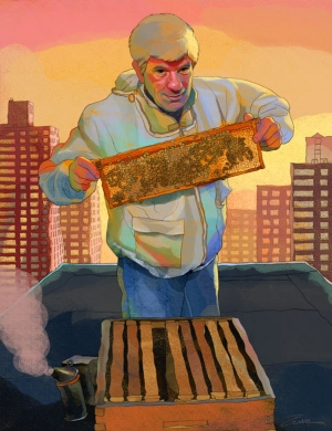 Bees!  Their GOLD!