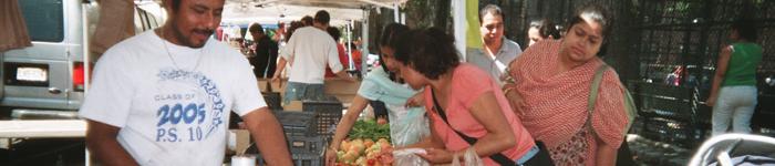 Jackson Heights Greenmarket