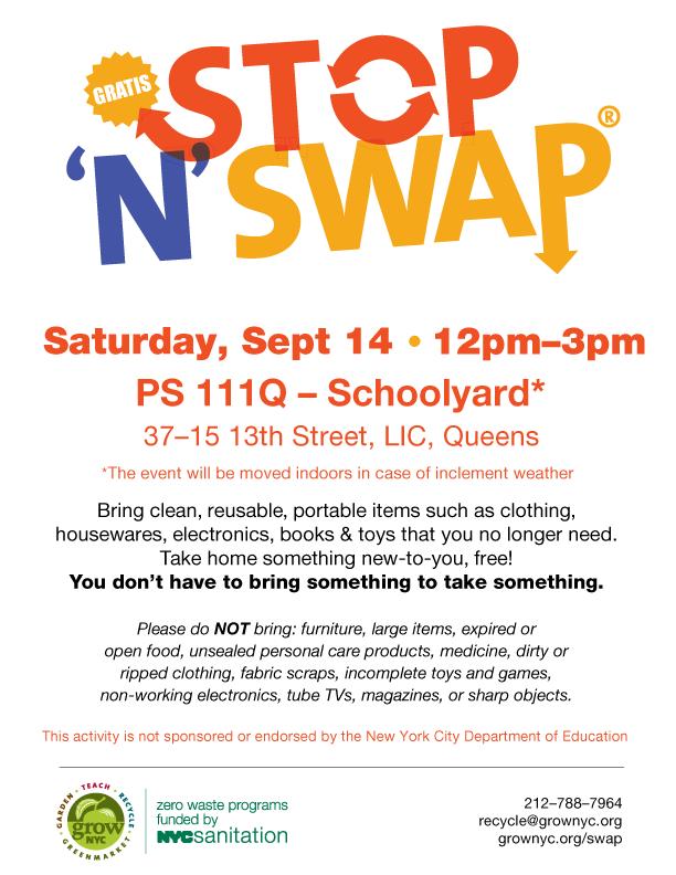 Stop 'N' Swap® | GrowNYC